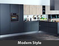 Moderne Küche günstig kaufen bei einem Küchen-Sonderverkauf
